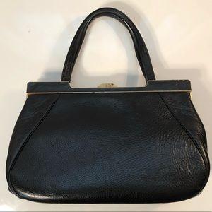 Handbags - VINTAGE Black Leather Purse